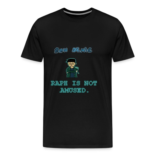 Raph Is Not Amused T-Shirt - Men's Premium T-Shirt