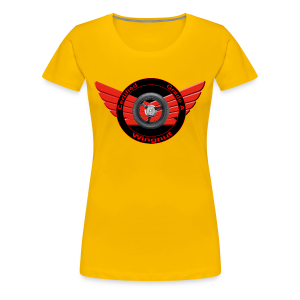 Ladies Premium T Front WingNut - Women's Premium T-Shirt