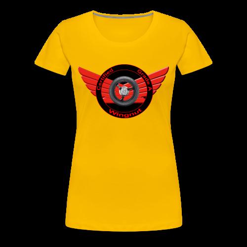 Ladies Premium T Front WingNut - Women's Premium T-Shirt