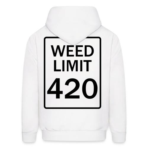 Weed Limit 420 - Hoodie - Men's Hoodie