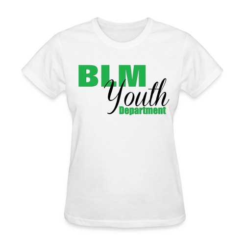BLM Youth Department - Women - Women's T-Shirt