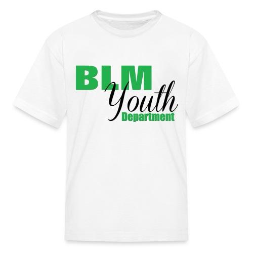 BLM Youth Department - Kids - Kids' T-Shirt