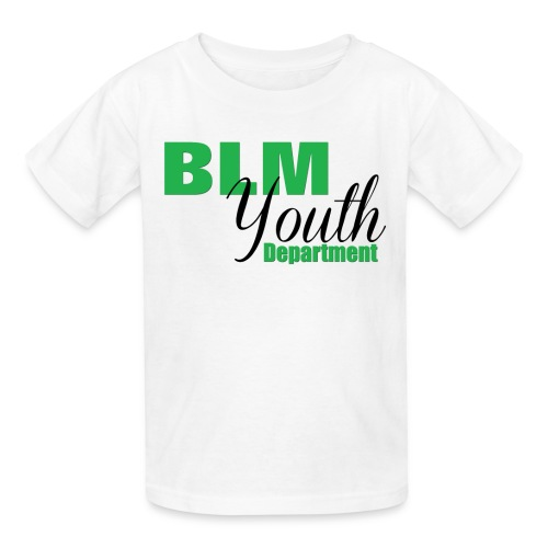 BLM Youth Department - Kids - Kids' T-Shirt