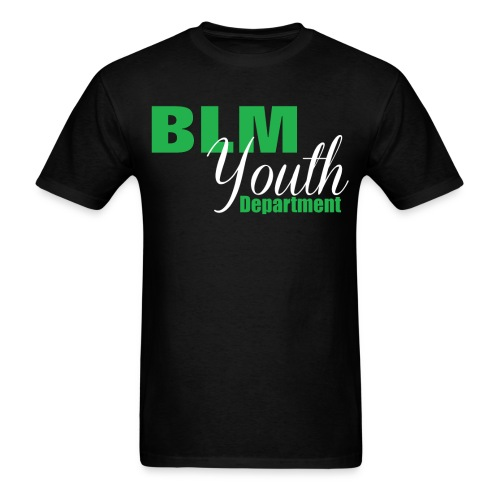 BLM Youth Department - Men - Men's T-Shirt