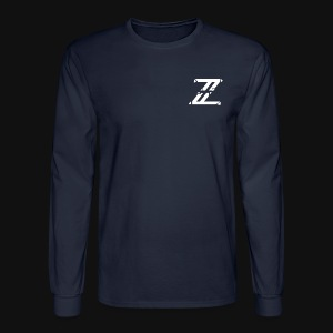 Iconic Navy Blue Zuqqo Long Sleeve - Men's Long Sleeve T-Shirt