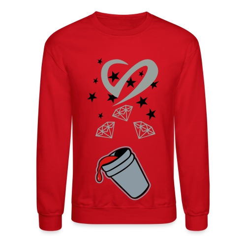 Diamond Life: Double cup - Crewneck Sweatshirt