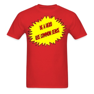Men's Common Sense Logo Tee - Men's T-Shirt