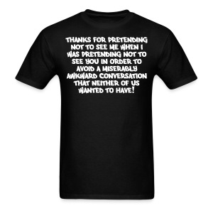 AWKWARD CONVERSATION - Men's T-Shirt