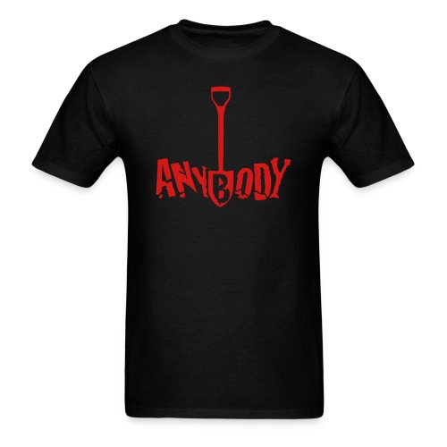 Anybody Men's T Shirt - Men's T-Shirt