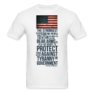 T-Shirts ~ Men's T-Shirt ~ 2ND AMENDMENT