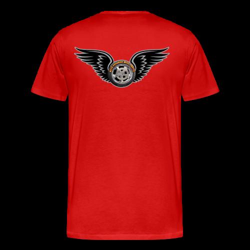 Men's Premium T Back HwingVoy - Men's Premium T-Shirt