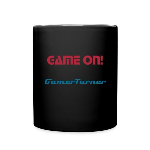 Black Game On! Mug - Full Color Mug