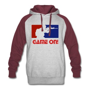 Game On! Hoodie - Colorblock Hoodie