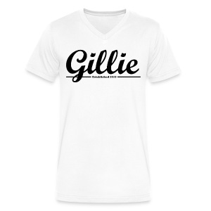 Gillie Apparel V Neck Shirt - Men's V-Neck T-Shirt by Canvas