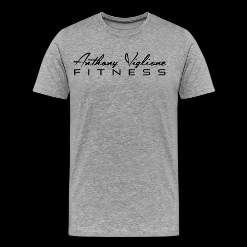 Black AVF Men's Premium Tee - Men's Premium T-Shirt