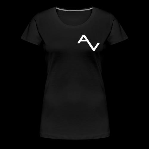 AV Originals White Women's Premium Tee - Women's Premium T-Shirt