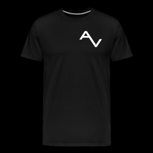AV Originals White Men's Premium Tee - Men's Premium T-Shirt