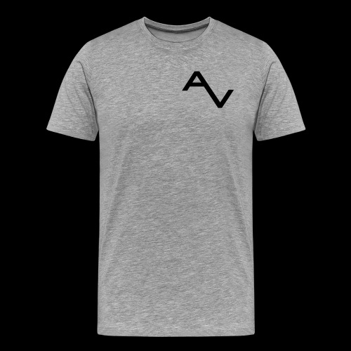 AV Originals Black Men's Premium Tee - Men's Premium T-Shirt