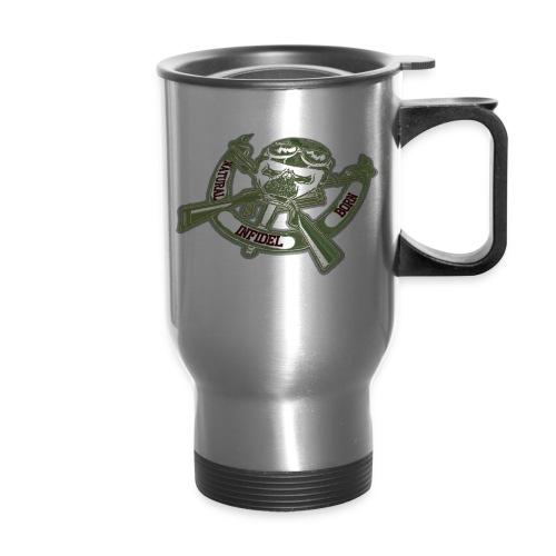 Natural Born Gun Bones - Travel Mug