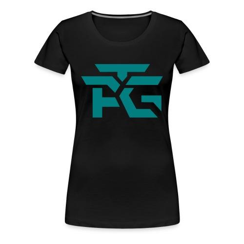 Woman's Black Logo Tee - Women's Premium T-Shirt