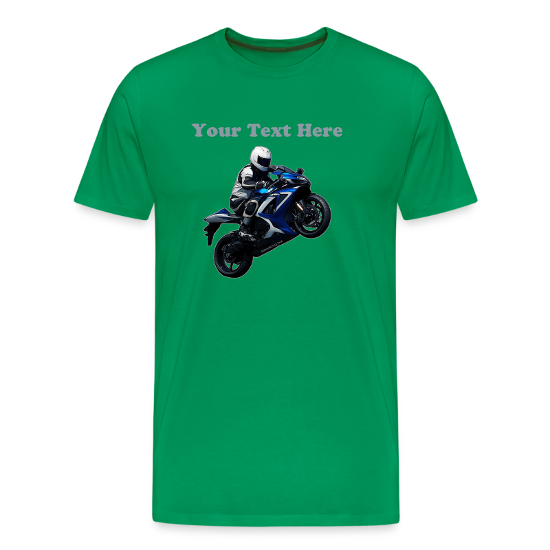 Men's Premium T SportBlue Custom (Front) - Men's Premium T-Shirt