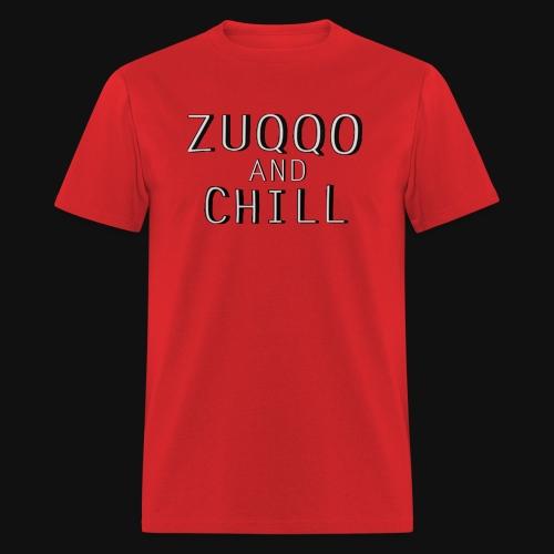 Iconic Red Zuqqo and Chill T-Shirt - Men's T-Shirt