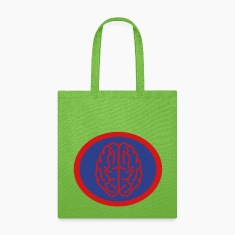 Super, Hero, Heroine, Super Brain, Brainiac Bags & backpacks