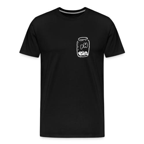 pH PILLBOTTLE [BLK] - Men's Premium T-Shirt