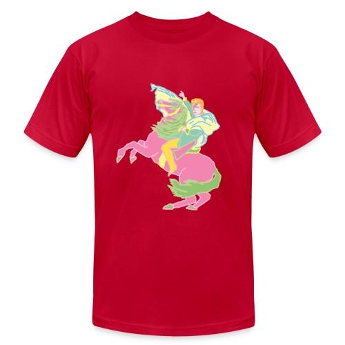 Ziggy Rides - Men's pink T-shirt - Men's  Jersey T-Shirt