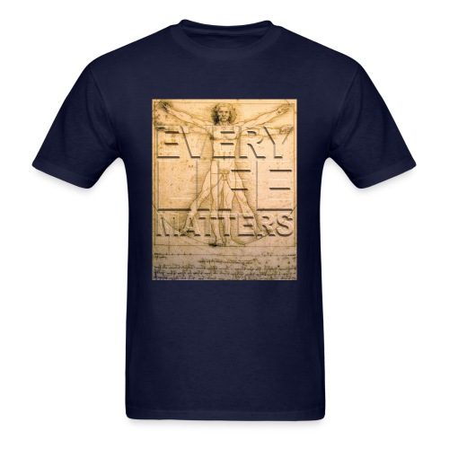 Every Life Matters T-shirt - Men's T-Shirt