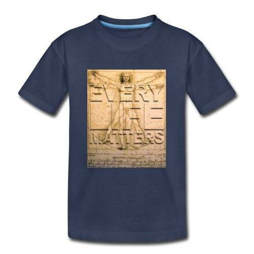 Every Life Matters T-shirt - Kids' Premium T-Shirt