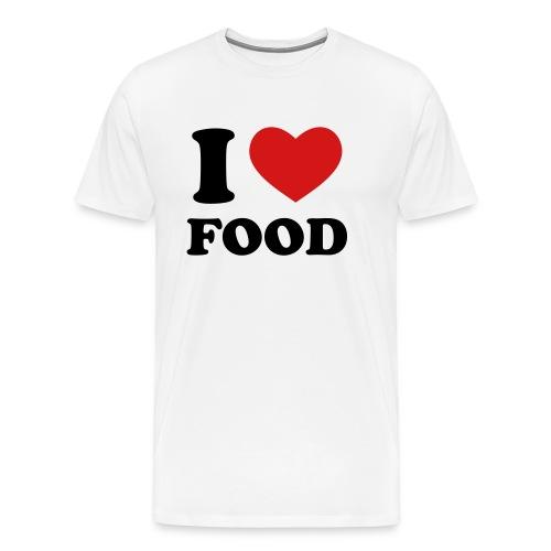 I Love Food - Men's Premium T-Shirt