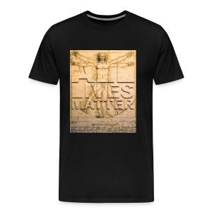All Lives Matter Men's Premium T - Men's Premium T-Shirt