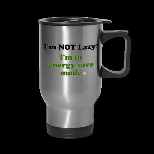 Travel Mug- Energy Save (one side) - Travel Mug