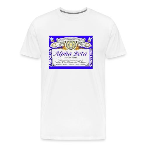 KING OF FRATS (throwback) - Men's Premium T-Shirt