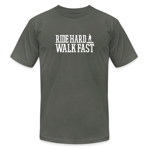 Ride Hard Walk Fast Premium Graphic Tee - Men's Fine Jersey T-Shirt