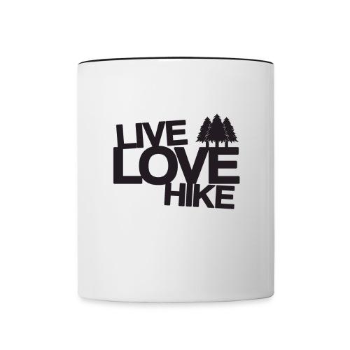 Hike Mug - Contrast Coffee Mug