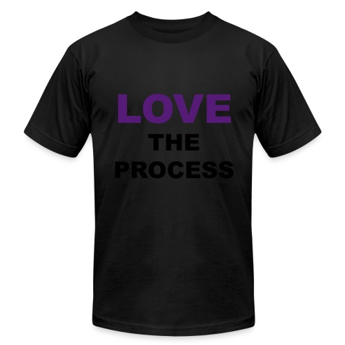 LOVE The Process (K) - Men's Fine Jersey T-Shirt