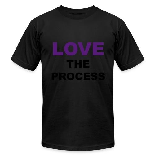 LOVE The Process (K) - Men's Fine Jersey T-Shirt
