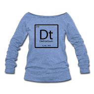 Long Sleeve Shirts ~ Women's Wideneck Sweatshirt ~ Detroitum