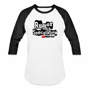 MonkeyFlop Baseball T-Shirt Black Sleeves White shirt  - Baseball T-Shirt