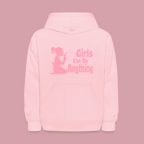 Girls Can Do Anything - Kids' Hoodie