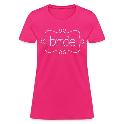 Cute Bride T-shirt - Women's T-Shirt