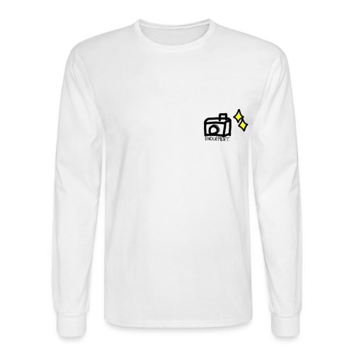 enouement camera long sleeve  - Men's Long Sleeve T-Shirt
