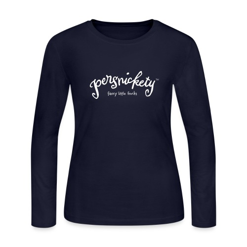 Branded Long Sleeve Tee - Women's Long Sleeve Jersey T-Shirt