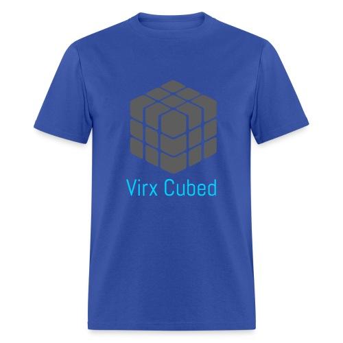 Light Blue Virx Cubed shirt - Men's T-Shirt