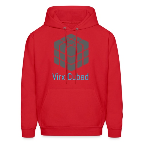 Red Virx Cubed sweatshirt - Men's Hoodie