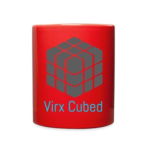 Red Virx Cubed mug - Full Color Mug
