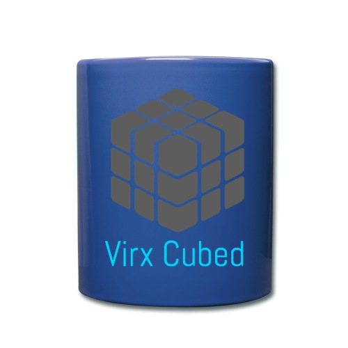 Blue Virx Cubed mug - Full Color Mug