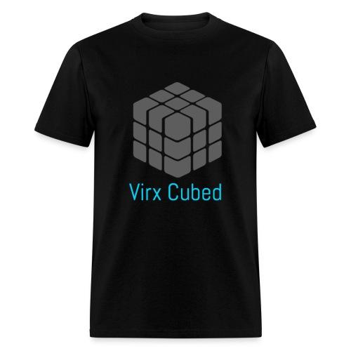 Black Virx Cubed shirt - Men's T-Shirt